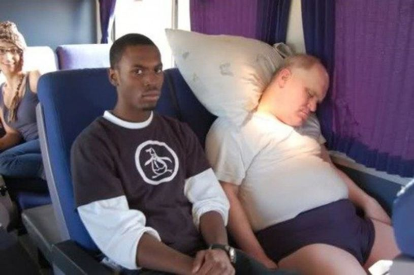 people you meet on the greyhound bus: the handsy narcoleptic